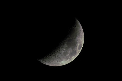 Moon Waxing Crescent