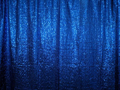 Royal Blue Glitz