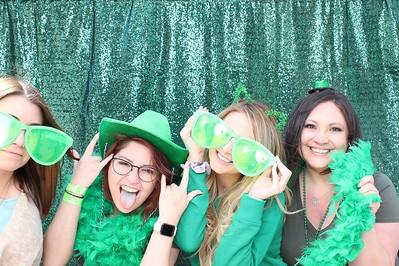 Emerald Green Glitz