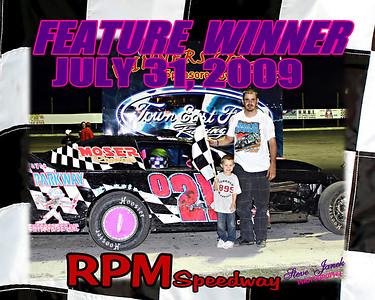 RPM SPEEDWAY  8-7-09