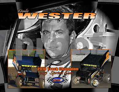 Dale Wester 305 Sprint Car Track Champion 2010