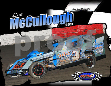 Lee McCullough Modifieds  2011