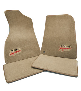 Tan Floor Mats for a 1994-2004 Mustang (front and rear) (P/N SM94-5100-T)