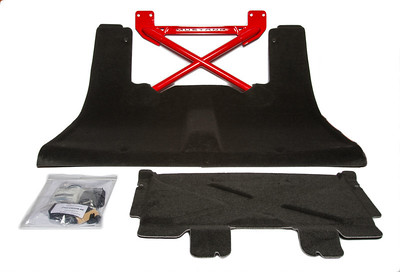 Ford Racing Race Red Rear Seat Delete (P/N M-6346612-B-PQ )