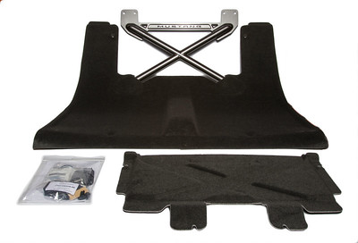 Ford Racing Hammertone Grey Rear Seat Delete (P/N M-6346612-B )