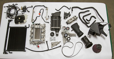 P2 5.0L Mustang S/C Kit RAW