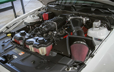 Phase 2 or 3 Supercharger (P/N 421390/421542) installed on a Stage 3 vehicle.
