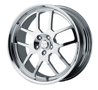 """401646 - RR04 20""""x8.5"""" forged chrome plated for Mustang"""