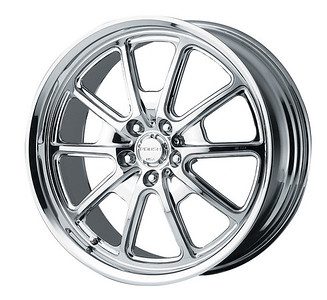"""401645 - RR02 20""""x8.5"""" forged chrome plated for Mustang"""