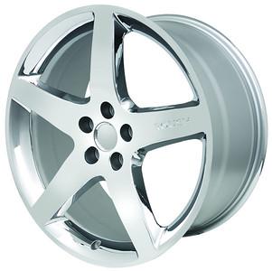 "20"" Chrome 5 Spoke Mustang Wheel (P/N 420034)"