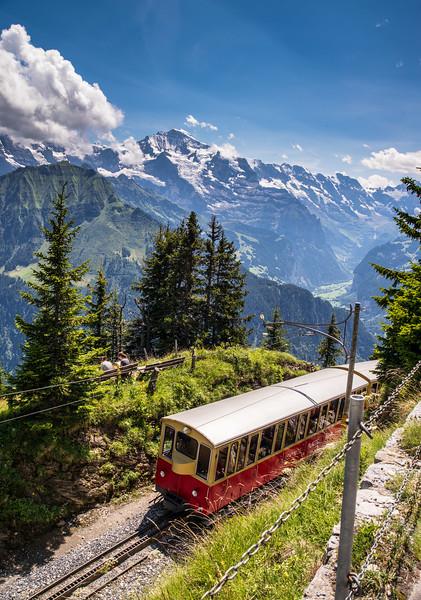 Schynigge cog railway, Switzerland