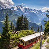 Schynigge cog railway, Switzerland
