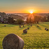 Sarlat sunrise France