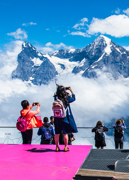16. Eiger and Mönch Switzerland