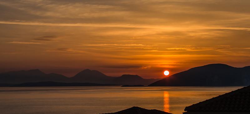 20. Sunrise over Lefkada