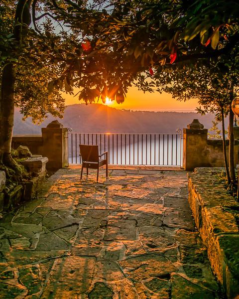 4.  Palazzola, Rome overlooking Lake Albano