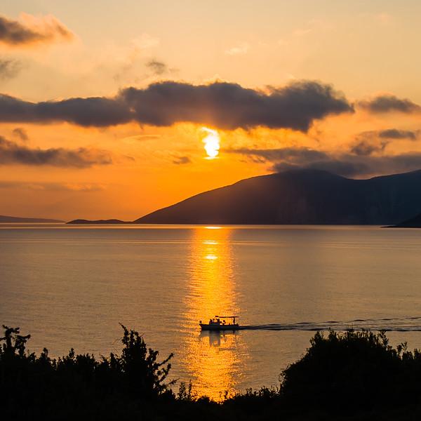 3. Sunrise over Ithaca
