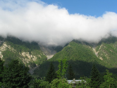 Clouds above Bourg D'Oiasans