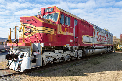Image from the Oklahoma Railway Museum in Oklahoma City, Oklahoma on November 8, 2019. Photo © Wesley Winterink.
