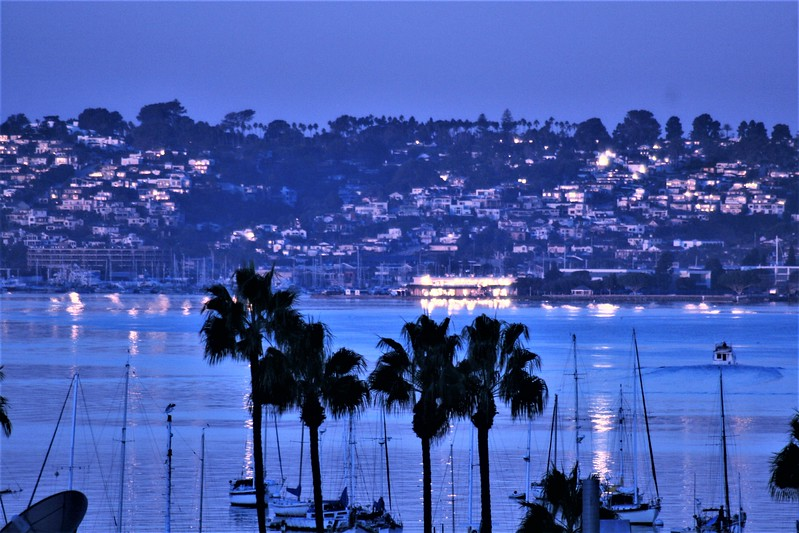 POINT LOMA AT NIGHT