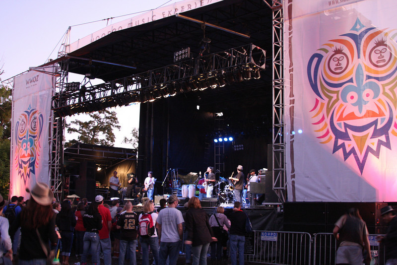 Robert Randolph and the Family Band at VooDoo Fest - New Orleans, LA 11/1/2009