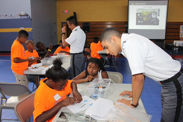 West Point S.T.E.M. Workshop for RRHA Youth, 2015