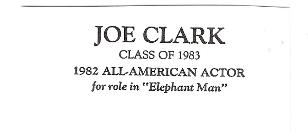 Clark, Joe - info
