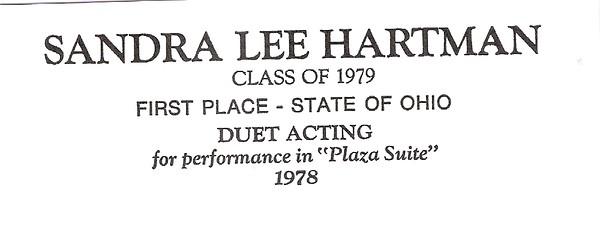 Hartman, Sandra Lee - info