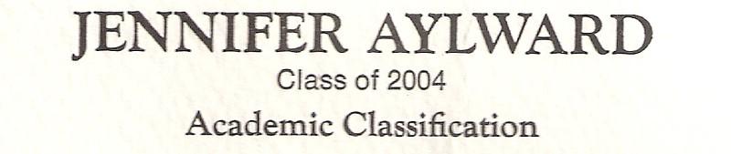 Aylward, Jennifer - info