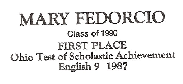 Fedorcio, Mary - info