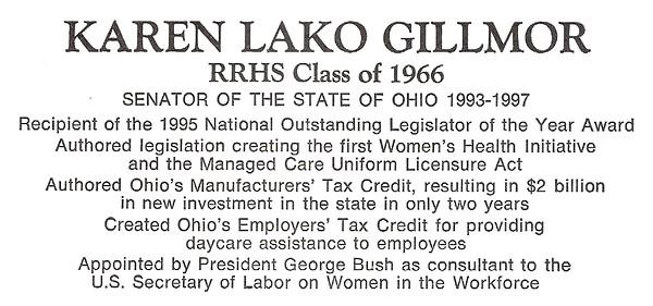 Gillmor, Lako Karen - info