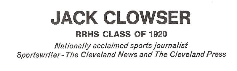 Clowser, Jack - info