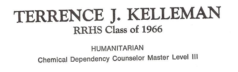 Kelleman, Terrence - info