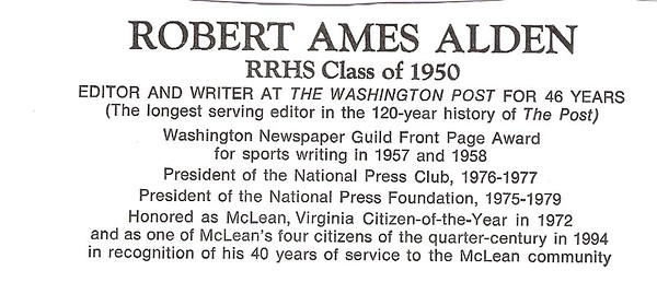 Alden, Robert Ames - info