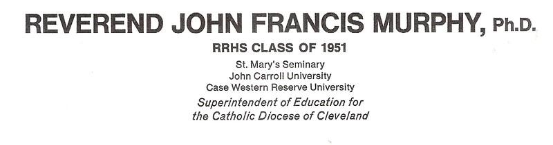 Murphy, John Francis PhD - info