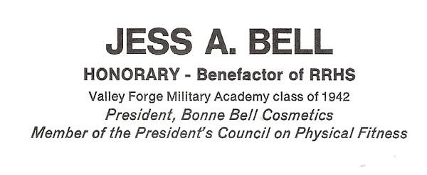 Bell, Jess - info