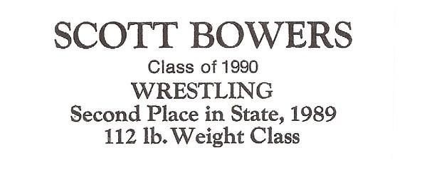 Bowers, Scott - info