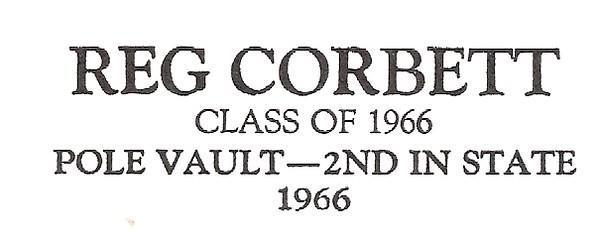 Corbett, Reg - info