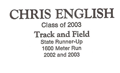 English, Chris - info