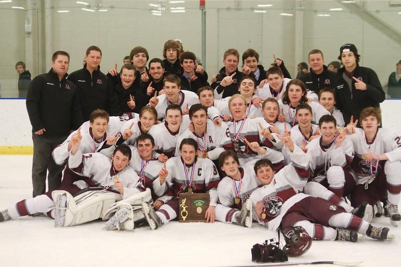 2013 RRHS Hockey District Champs