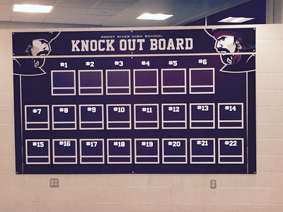 RRHS - Knock Out Board - numbered
