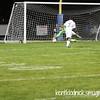2014-09-24 RRBS vs N Ridgeville 142 Duncan header no goal