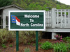 Welcome Station on I-40 in the mountains between Knoxville and Asheville