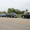 Sneed's 53 R-Type, Ron's SS II, Carl's 63 SC III and Willem's 96 Brooklands