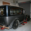On July 4, 1934 the car was sold to W.T.Dunbar & Sons (Funeral Directors) in Edinburgh, Scotland for 600 English Pounds.  This company still exist in the same location today.  I am sure if you contact them they can send you some old photographs of the hearse in use back in the 30s and 40s. W.T Dunbar & Sons,  112 Lothian Rd,   EDINBURGH, EH3 9BE   Midlothian, Scotland, UK -   Country Code 44 - 0131 – 2294284  W.T. Dunbar & Sons had the limousine body reworked into a Hearse configuration which you currently have in your possession.  The company which did the conversion is listed on the chrome plate seen when you open the front doors.