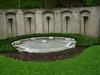 Howard Hughes' grave in the Glenwood Cemetery Houston