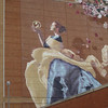 The mural on the AT&T building in Shreveport, LA