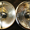 55 year old reflector on the left - new reflector on the right