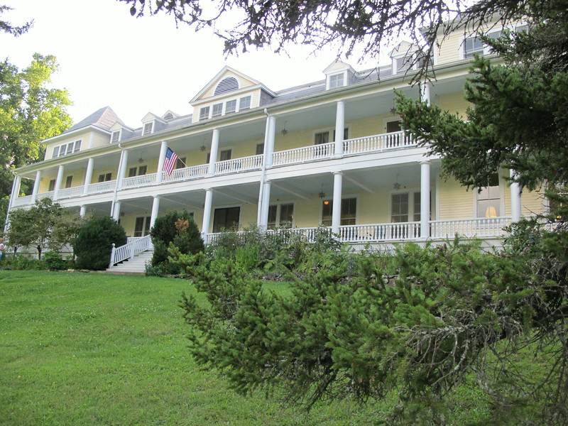 Balsam Mountain Inn built in 1905.