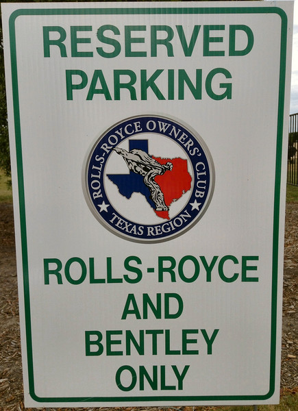"""The only sign with the hyphen between Rolls & Royce.  John & Mike photos.<br /> <br /> <a href=""""http://johnandmike.smugmug.com/Cars/Shows-Participating/2014-RROC-Texas-Spring-Meet-at/"""">http://johnandmike.smugmug.com/Cars/Shows-Participating/2014-RROC-Texas-Spring-Meet-at/</a>"""
